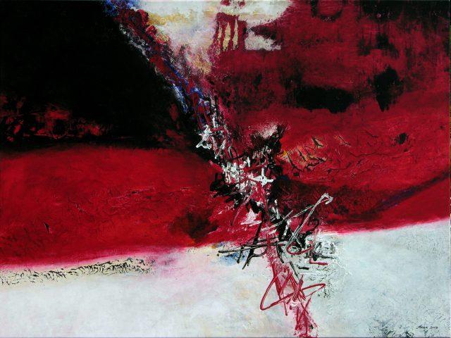 Acrylique sur toile - 120x160cm