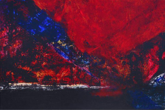 Acrylique sur toile - 120x180cm