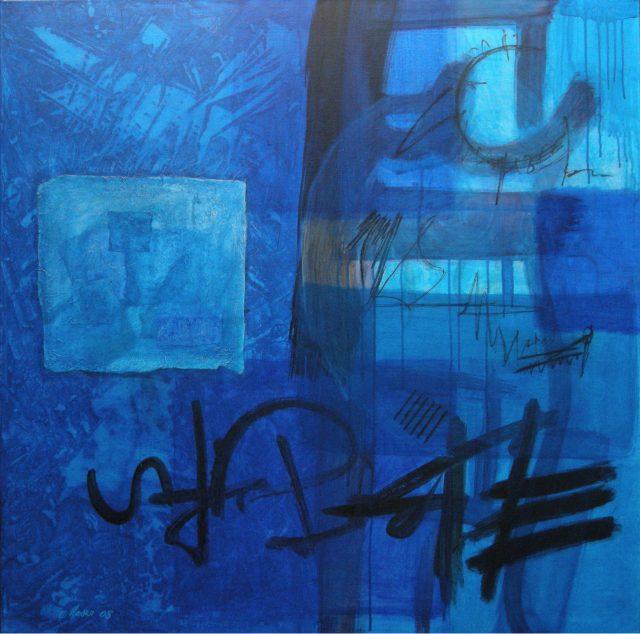 Acrylique sur toile - (100x100cm)