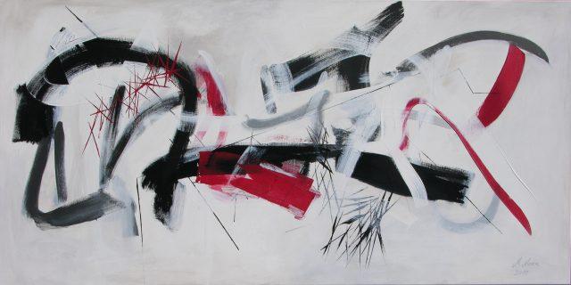 Acrylique sur toile - 100x200cm