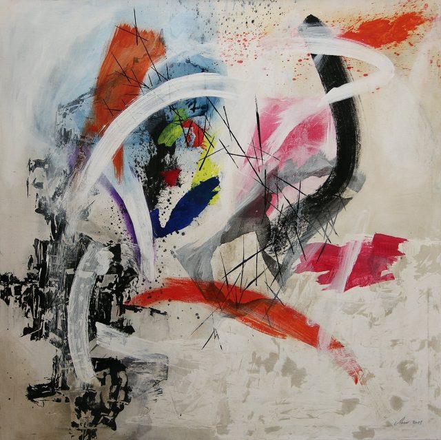 Acrylique sur toile - 120x120cm